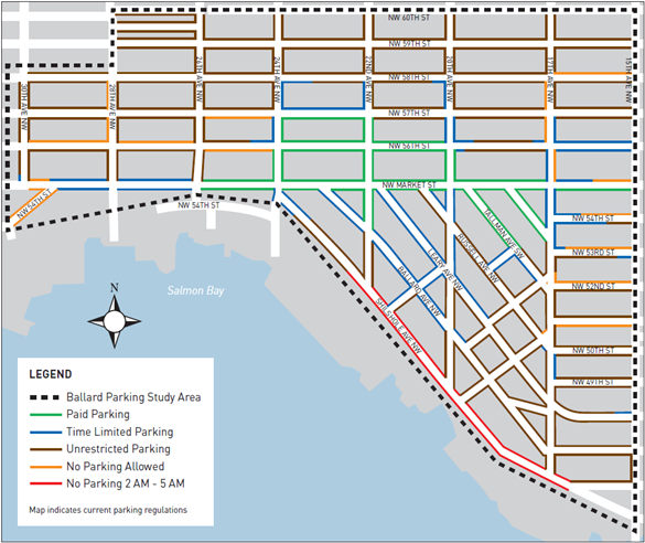 Seattle Parking Map Beautiful Seattle Parking Zone Map Ideas   Printable Map   New  Seattle Parking Map