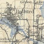 Old Ballard Map
