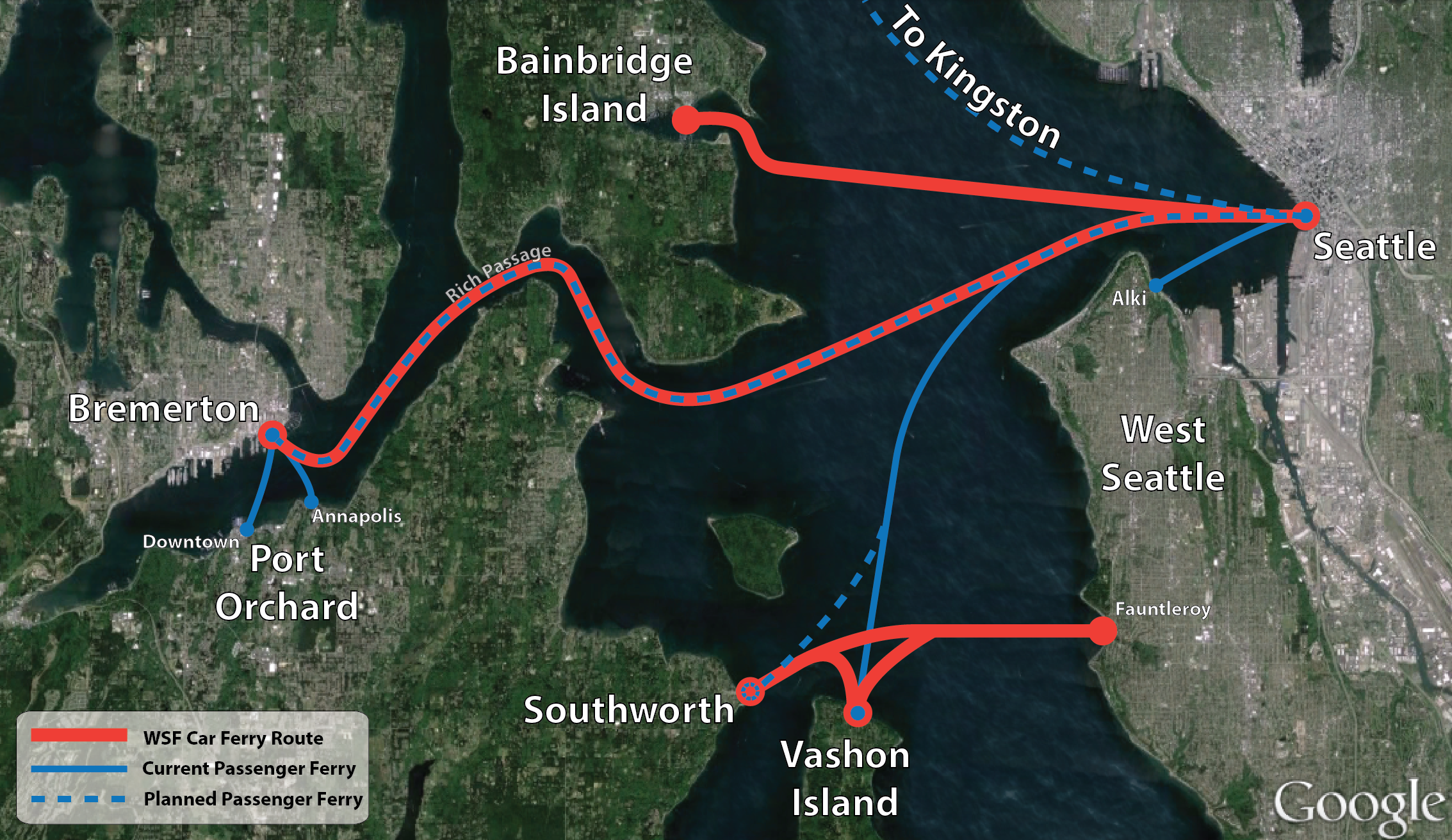 Kitsap Transit Plans to Revive High Speed Ferries The Urbanist