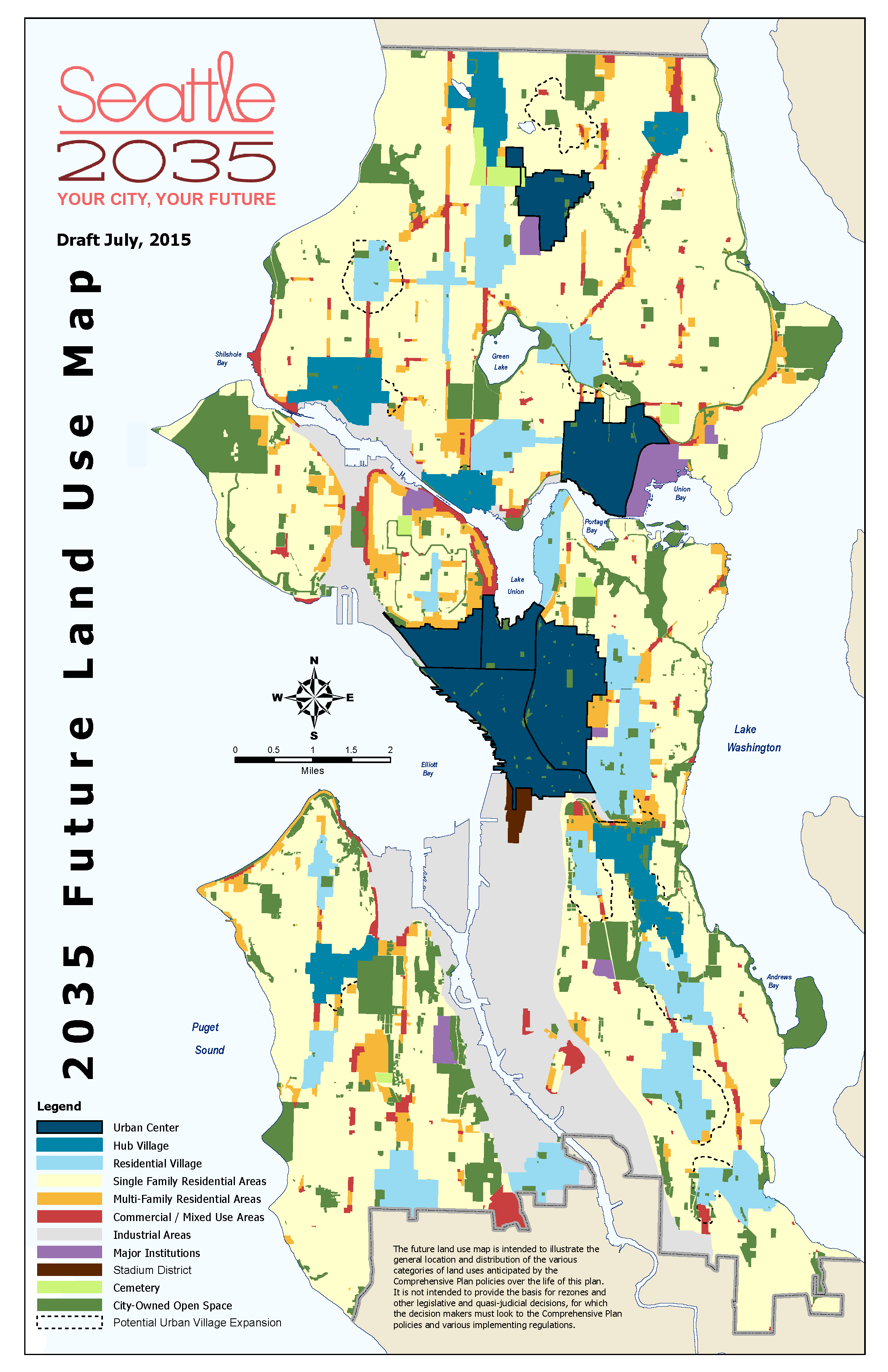 Seattles Draft Comprehensive Plan Takes on the Big Issues The