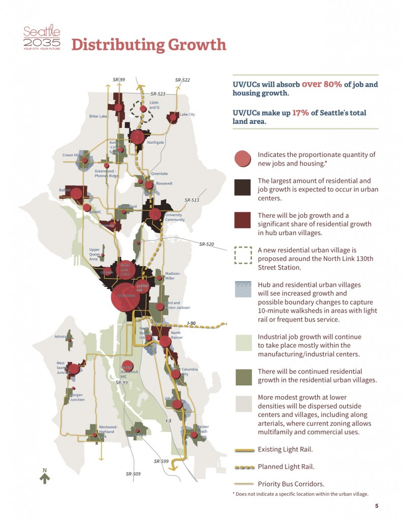 The Seattle 2035 draft plan is still awaiting approval by the City Council. (City of Seattle)