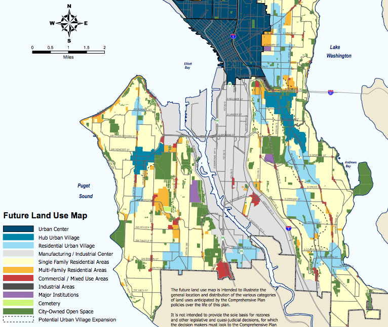 PLUZ Committee Discusses Seattle 2035 Again But Future Land Use