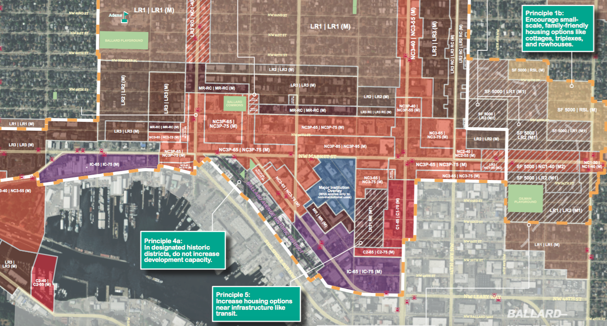 MHA Draft Rezone Maps For All