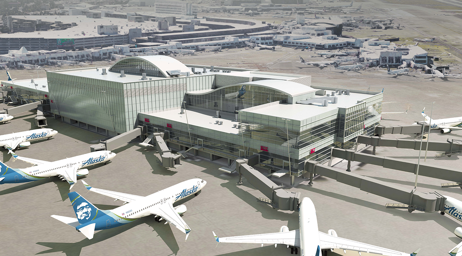 Sea Tac Airport S New International Arrivals Facility And