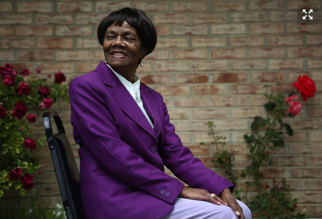 Rosalie Johnson has been active in the Central District community since 1960s. (Ken Lambert)
