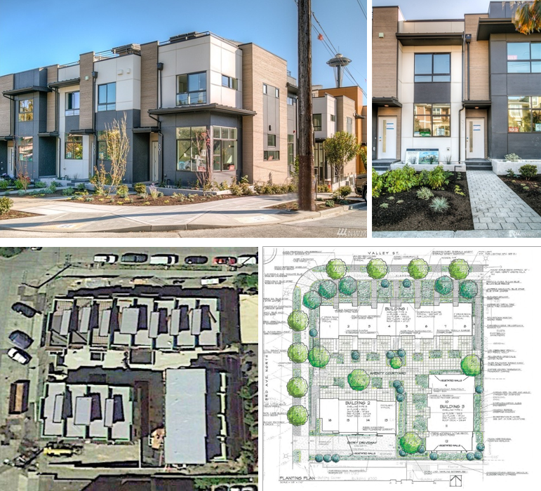 Waterfront Townhome Boasts Cool Urban Style: Visualizing Compatible Density » The Urbanist