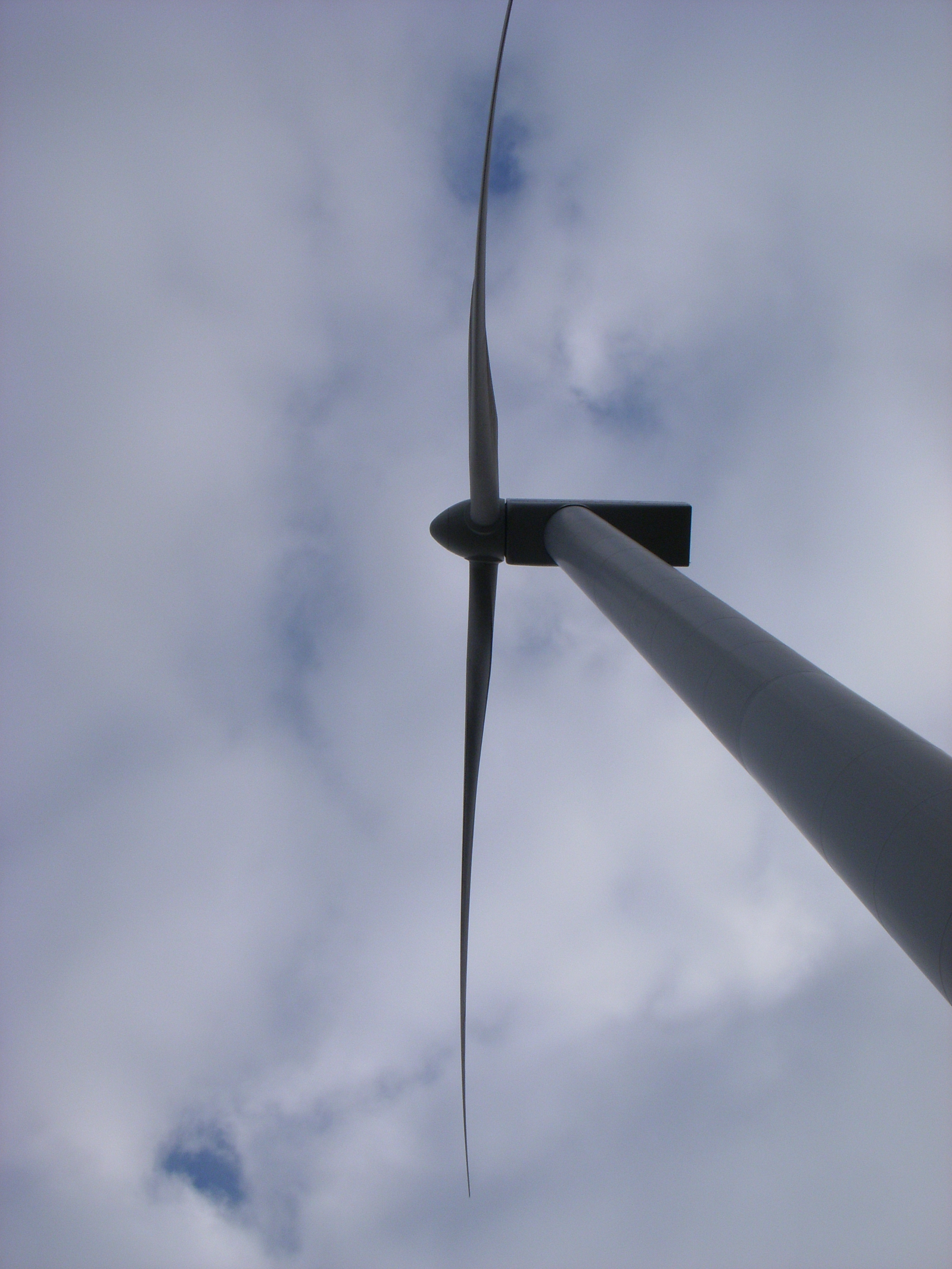 Wind turbine in West Cork, Ireland.