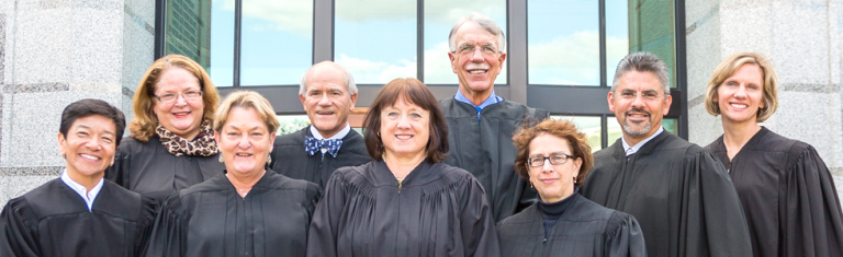 The nine members of the Washington State Supreme Court. (Washington State)